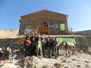 Hochlager und gemütliche Berghütte Bergah Sewom am Damavand