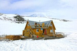 Basislager des Awatschinski Vulkans auf Kamtschatka