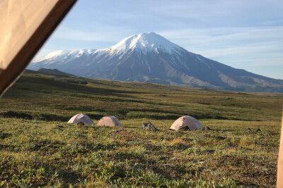 Unser Camp im Tal der Riesen