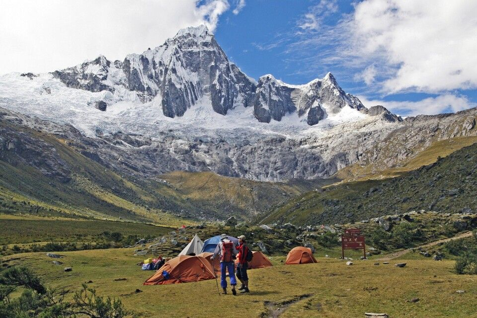 Santa Cruz Trek, Taullipampa