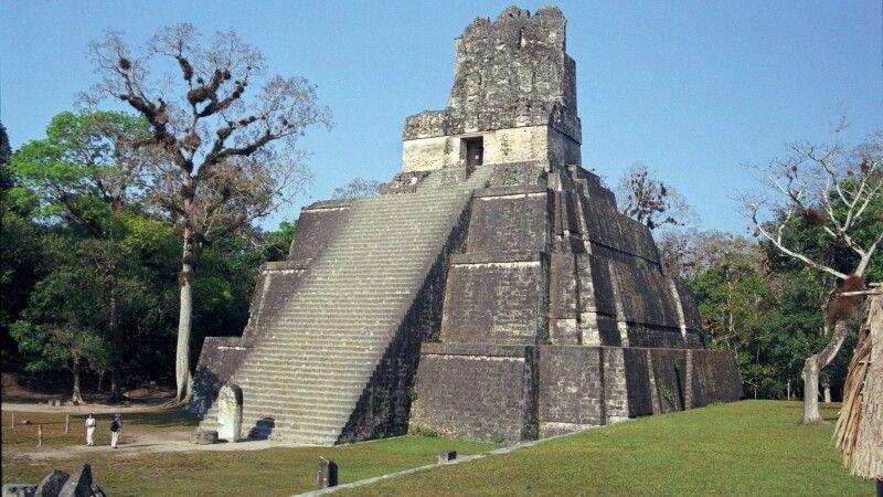 Tempel 1, Tikal, Petén, Guatemala © Diamir