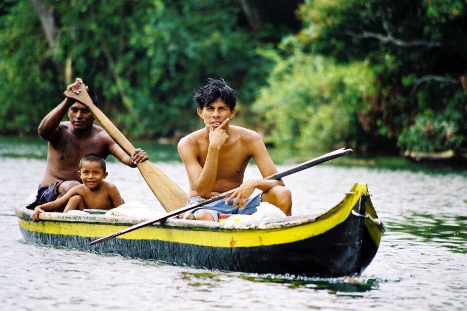 Unterwegs im Kanu