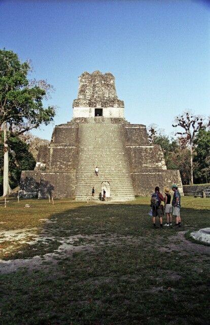 Maya-Erbe in Tikal