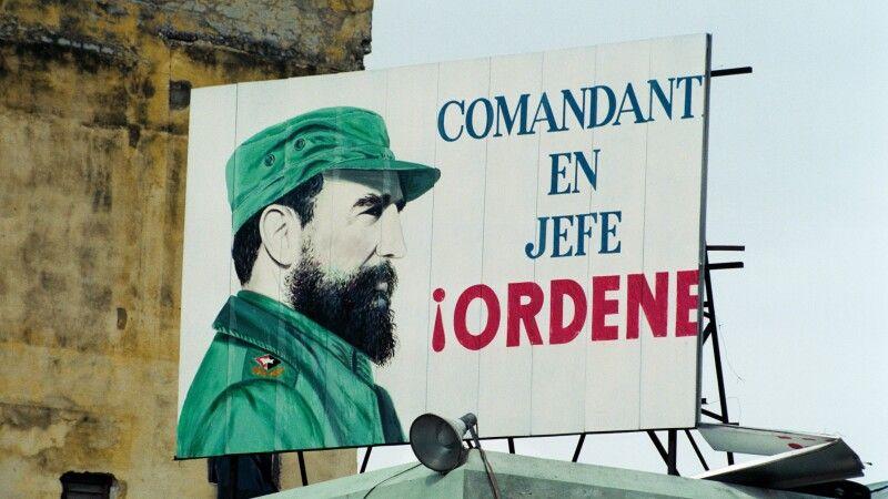 Fidel Castro © Diamir