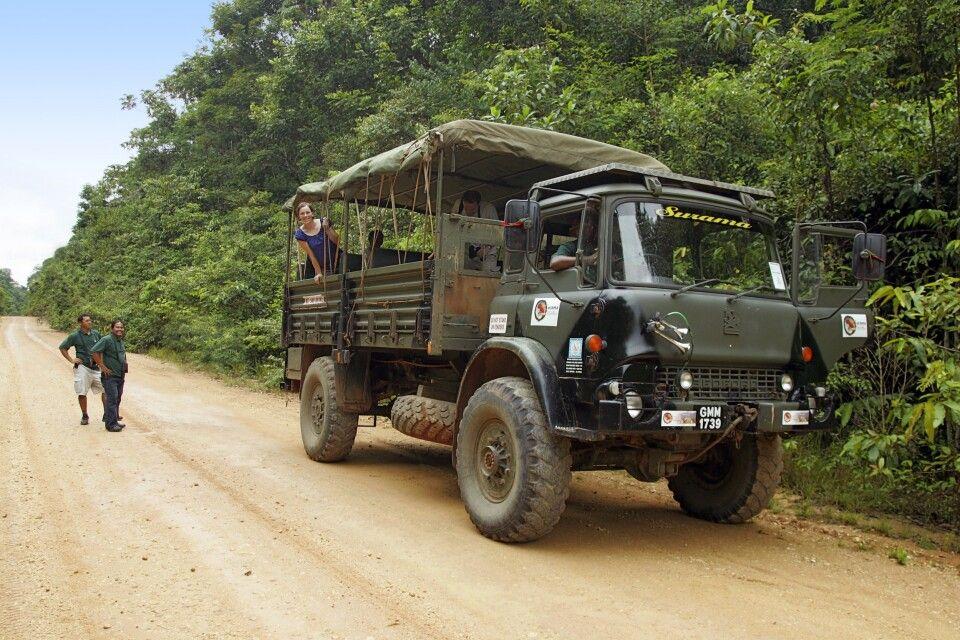 Auf dem Weg zur Surama Ecolodge