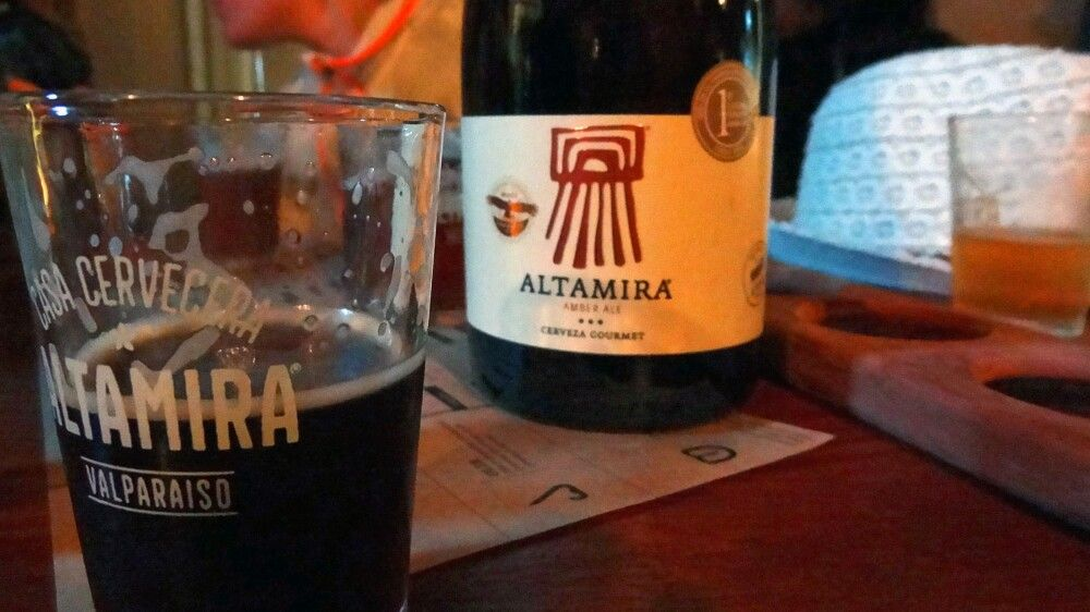 Bier aus Valparaiso