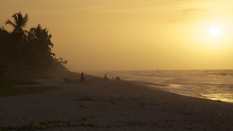 Palomino Strand an der Karibikküste © Diamir