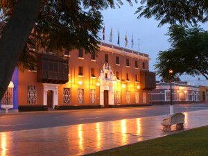 Abendstimmung in Trujillo