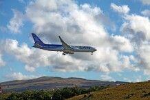 Flugzeug der LAN