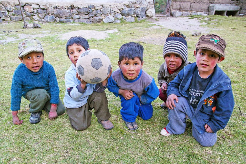 Peruanische Kinder