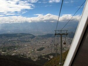 Teleferico in Quito