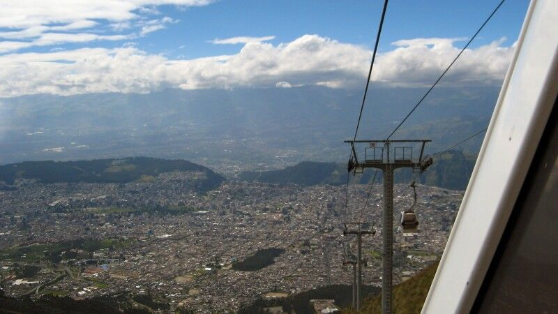 Teleferico in Quito © Diamir