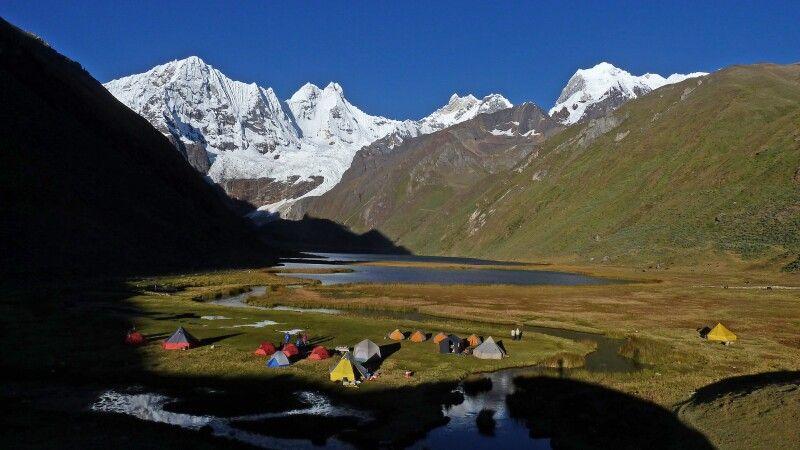 Trekking in der Cordillera Huayhuash © Diamir