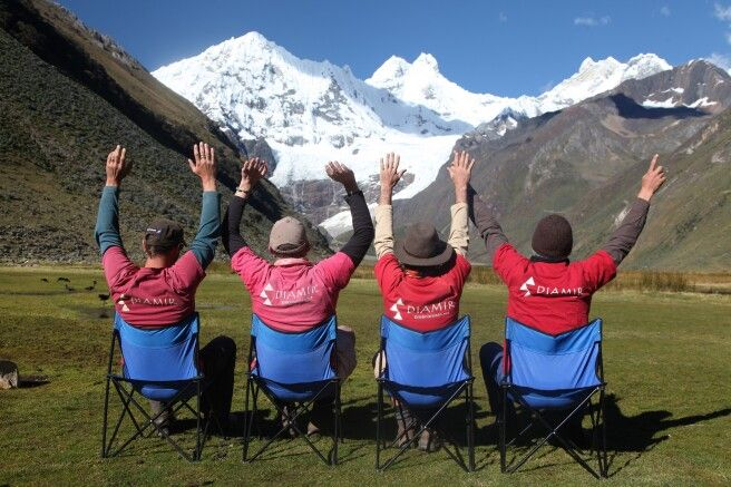 DIAMIROS in der Cordillera Huayhuash