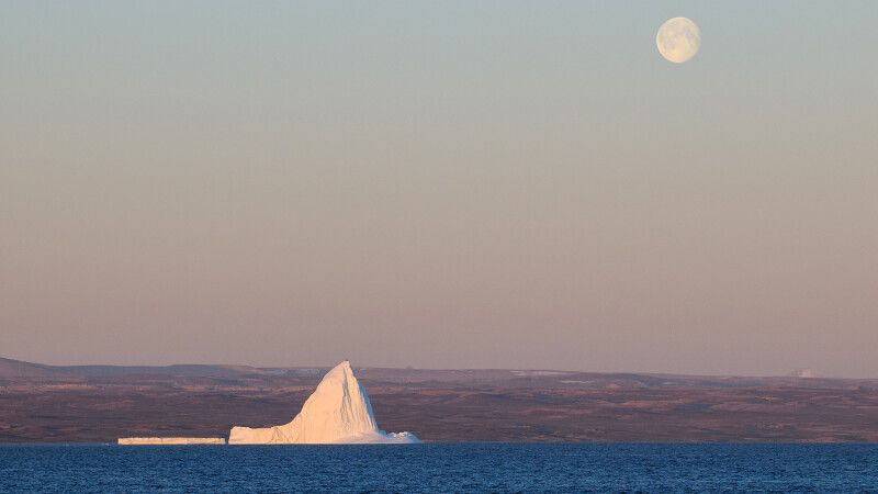 Haushoher Eisberg © Diamir
