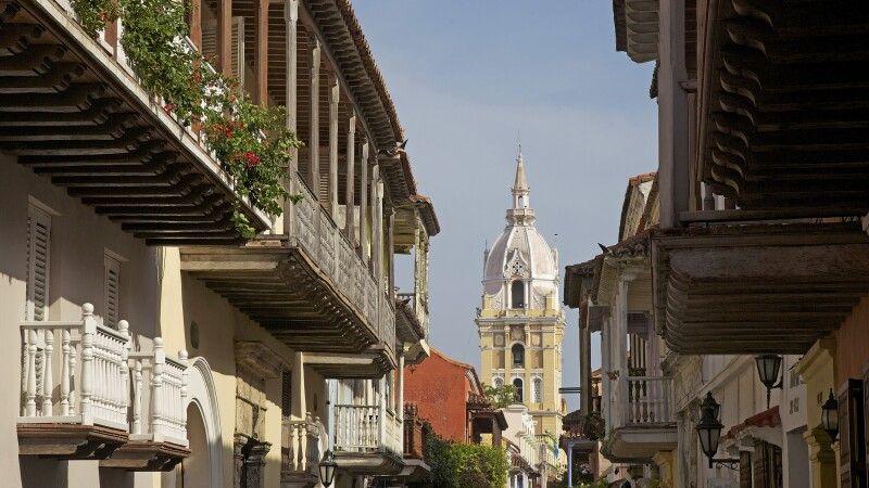 Koloniales Zentrum von Cartagena im Norden Kolumbiens © Diamir