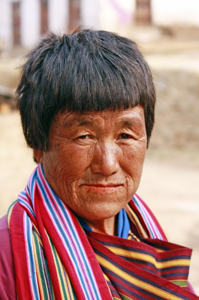 Bhutanerin in Punakha