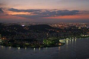 Abendstimmung in Rio de Janeiro