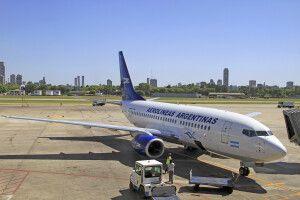 Flugzeug Aerolineas Argentinas