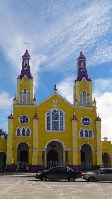 Kathedrale in Castro, Insel Chiloe