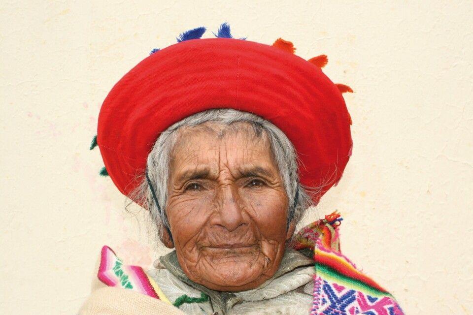 Indigene Frau