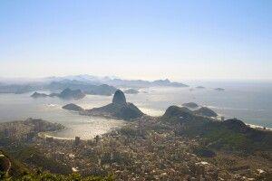Aussicht auf Rio de Janeiro vom Corcovado