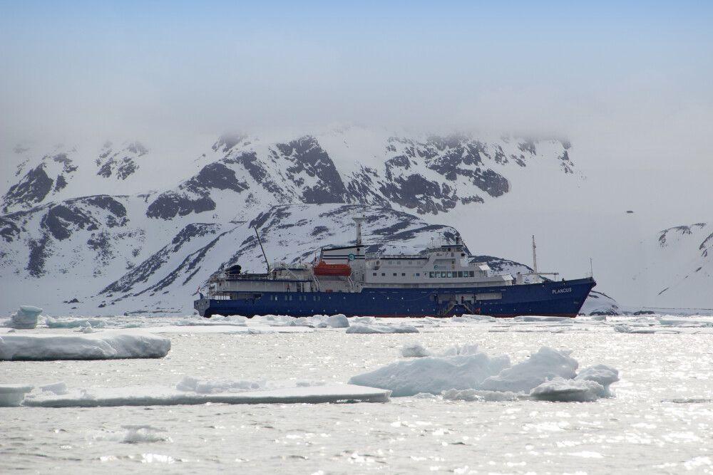 Plancius unterwegs in Nordspitzbergen