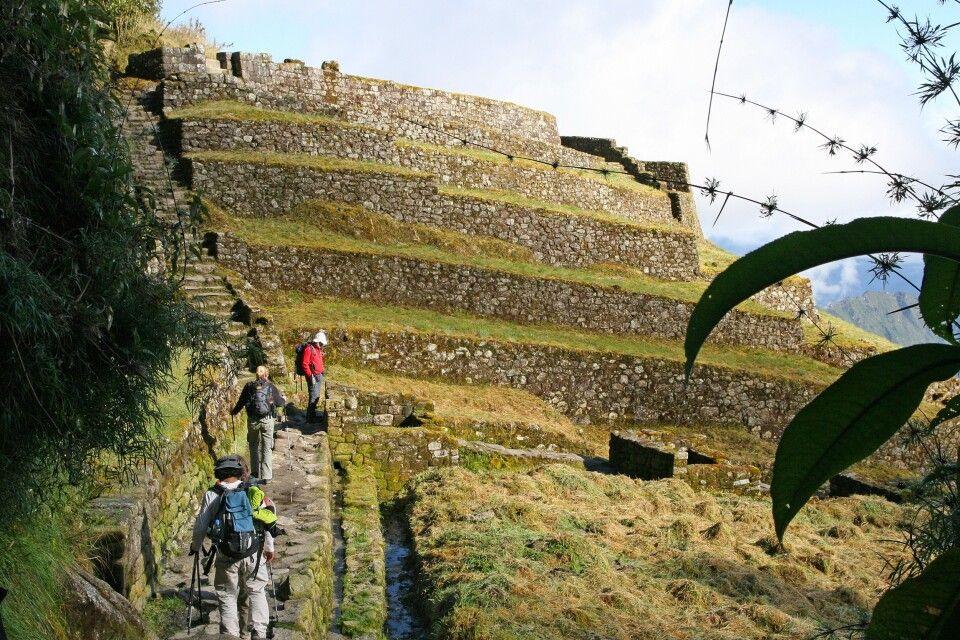 Entlang des Inka Trail: Phuyupatamarca