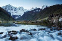 Landschaften in der Cordillera Huayhuash