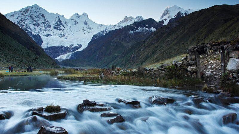 Landschaften in der Cordillera Huayhuash © Diamir