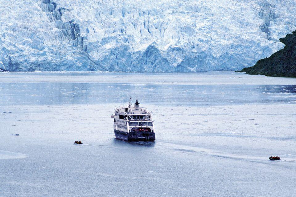 Stella Australis am Pia-Gletscher in Feuerland
