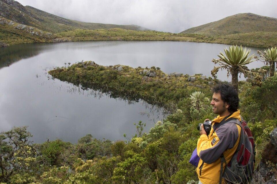 Chingaza NP östlich von Bogota, Kolumbien