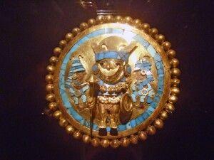 Goldschmuck der Moche-Kultur