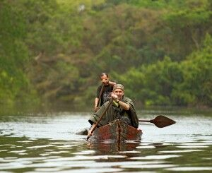 Kanutour im Regenwald
